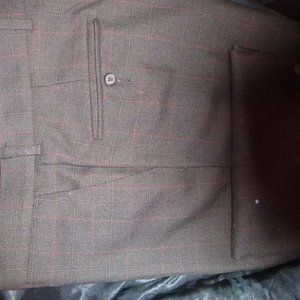 Today's Man Suits & Blazers - Today's Man Brookcraft 2 Button Brown Suit 42S W36